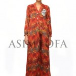 Asim Jofa Latest Semi Formal Dresses 2013 For Women 002