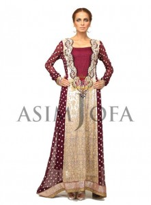 Asim Jofa Latest Semi Formal Dresses 2013 For Women 005