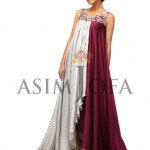 Asim Jofa Latest Semi Formal Dresses 2013 For Women 007