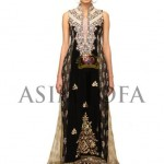 Asim Jofa Latest Semi Formal Dresses 2013 For Women 008