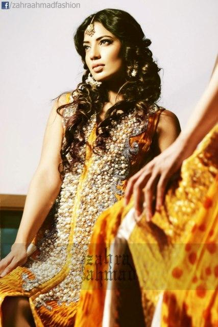 Bridal Wear Latest Collection 2013 By Zahra Ahmad (4)