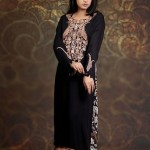 Damak Latest Mid Winter Dresses 2013 For Women 0012