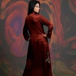 Damak Latest Mid Winter Dresses 2013 For Women 002