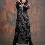 Damak Latest Mid Winter Dresses 2013 For Women 004