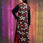 Damak Latest Mid Winter Dresses 2013 For Women 007