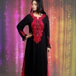 Damak Latest Mid Winter Dresses 2013 For Women 008