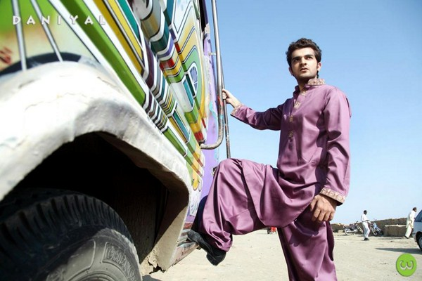 Daniyal Latest Men kurta shalwar winter collection 2013-2014