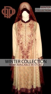 Deepak Perwani Latest Winter Outfits 2013 For Ladies 005