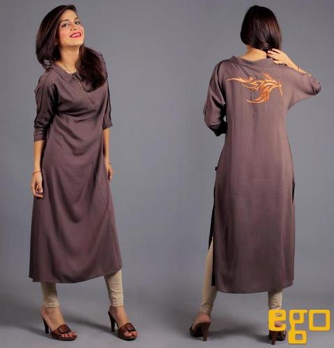 Ego Latest Winter Dresses 2013 For Girls 006