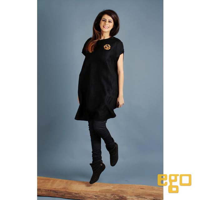 Ego winter dresses 2013 Fun woolen top worn with denim choridar