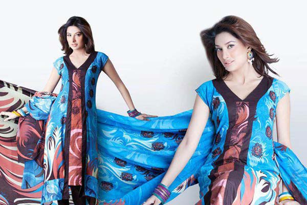 Hinzz Ali Latest Party Wear Dress Collection 2013-2014 For women (1)