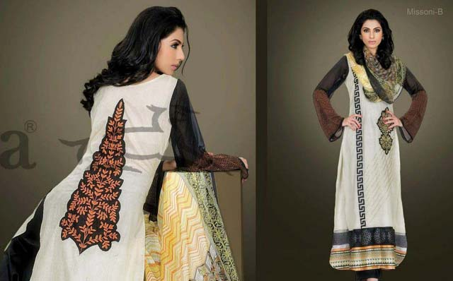 Kesa Vol 2 Winter Collection 2013 By Lala Textiles For Women 0010