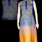 Latest Semi Formal Wear Collection 2013-2014 By SHS Pret-a-Porter (6)