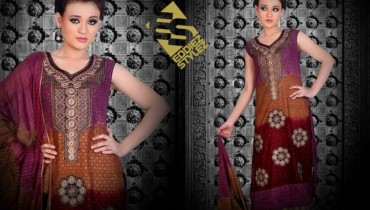 Latest Winter Dresses 2013 By Eddiez Stylez Glamour 001