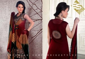 Latest Winter Dresses 2013 By Eddiez Stylez Glamour 002