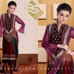 Latest Winter Dresses 2013 By Eddiez Stylez Glamour 004