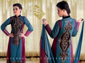 Latest Winter Dresses 2013 By Eddiez Stylez Glamour 005