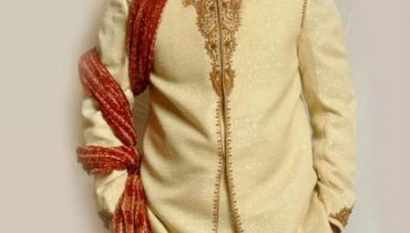 Pakistani Groom dresses Latest Sherwani Fashion Shoot 2013 by Rizi Shah