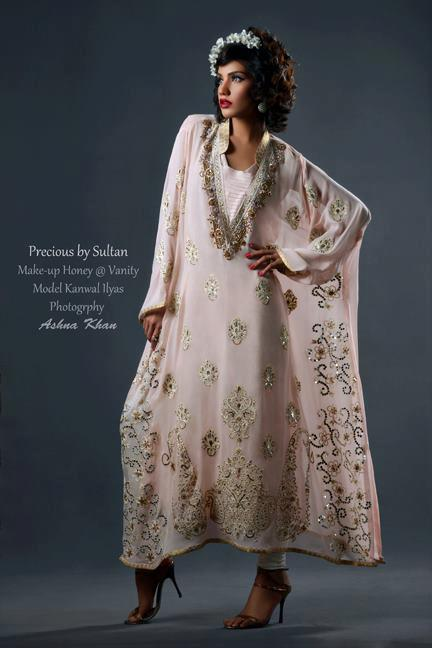 Precious By Sultan Winter Dresses 2013 For Girls 006