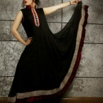 Sadia Hussain Latest Winter Party Dresses 2013 For Women 003