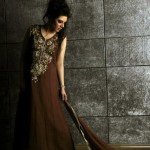 Sadia Hussain Latest Winter Party Dresses 2013 For Women 004
