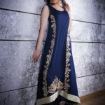 Sadia Hussain Latest Winter Party Dresses 2013 For Women 007