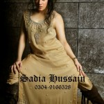 Sadia Hussain Latest Winter Party Dresses 2013 For Women 008