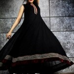 Sadia Hussain Latest Winter Party Dresses 2013 For Women 009