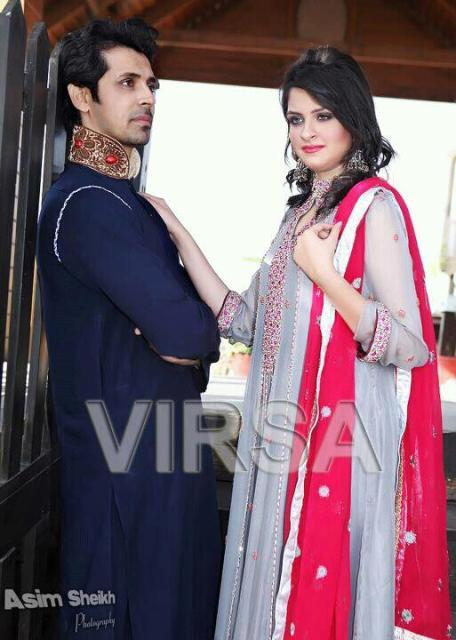 Virsa By Shagufta Manzoor Latest Men & Women 2013 Dresses 008