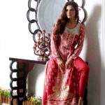 Warda Designer Latest Winter Casual Dresses 2013 For Women 001
