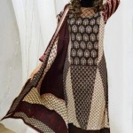 Warda Designer Latest Winter Casual Dresses 2013 For Women 0011
