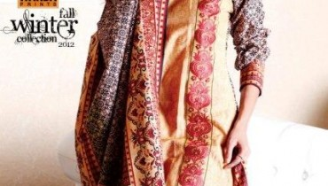 Warda Designer Latest Winter Casual Dresses 2013 For Women