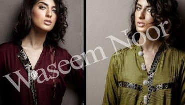 Waseem Noor Latest Winter Casuals Outfits 2013 For Women 001