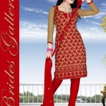 Winter Printed Shalwar Kameez Collection 2013 By Brides Galleria 0010