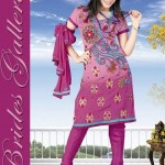 Winter Printed Shalwar Kameez Collection 2013 By Brides Galleria 0012