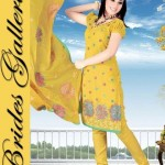 Winter Printed Shalwar Kameez Collection 2013 By Brides Galleria 0013