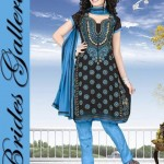 Winter Printed Shalwar Kameez Collection 2013 By Brides Galleria 0014