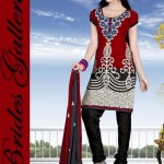 Winter Printed Shalwar Kameez Collection 2013 By Brides Galleria 002