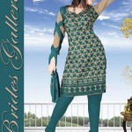 Winter Printed Shalwar Kameez Collection 2013 By Brides Galleria 003