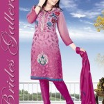 Winter Printed Shalwar Kameez Collection 2013 By Brides Galleria 004