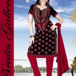 Winter Printed Shalwar Kameez Collection 2013 By Brides Galleria 005