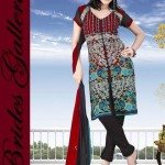 Winter Printed Shalwar Kameez Collection 2013 By Brides Galleria 006