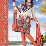 Winter Printed Shalwar Kameez Collection 2013 By Brides Galleria 009