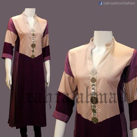 Zahra Ahmad Latest Winter Casual Wear Collection 2013 For Women 007
