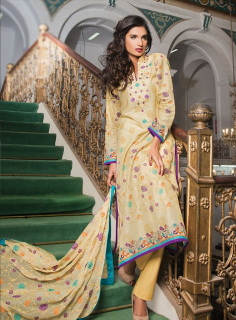 Al Karam Summar Lawn Prints Collection 2013-2014 for Ladies