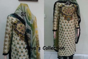 Aliya Naeem latest Party Wear Lawns Stitched Collection 2013 For young girls & stylish Women 003