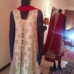 Ambreen Azhar Party Wear Dresses Collection 2013 For girls & Women 001