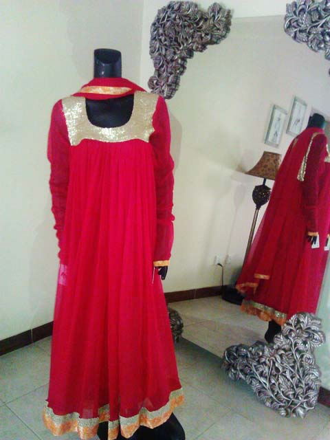 Ambreen Azhar Party Wear Dresses Collection 2013 For girls & Women 005