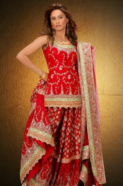 Avesh and Shagufta Heer Bridal Latest Dress Collection 2013-14