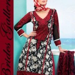 Brides Galleria Latest Cotton Lawn Dress 2013-2014 For Girls (6)